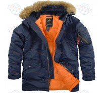 Аляска Alpha Industries SF N3-B BLUE ORANGE