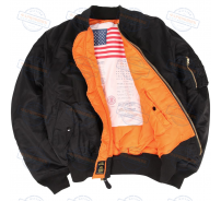 Куртка Alpha Industries  MA-1 Blood Chit (BLACK)