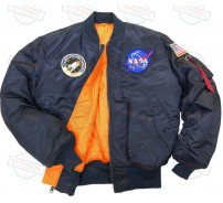 Куртка Alpha Industries MA-1 NASA