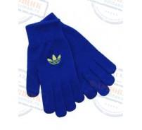 Перчатки adidas, модель Trefoil Gloves, цвет голубой